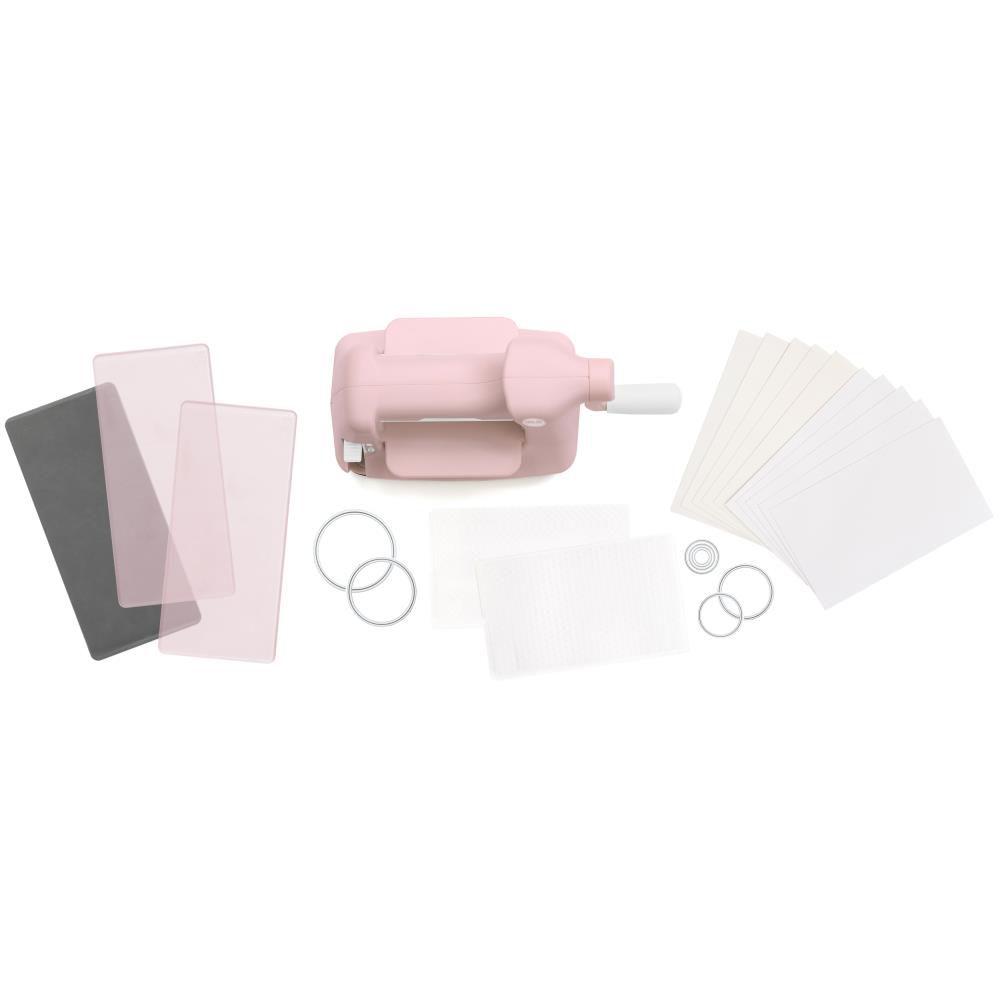 Mini Evolution Die Cut Machine Kit Pink