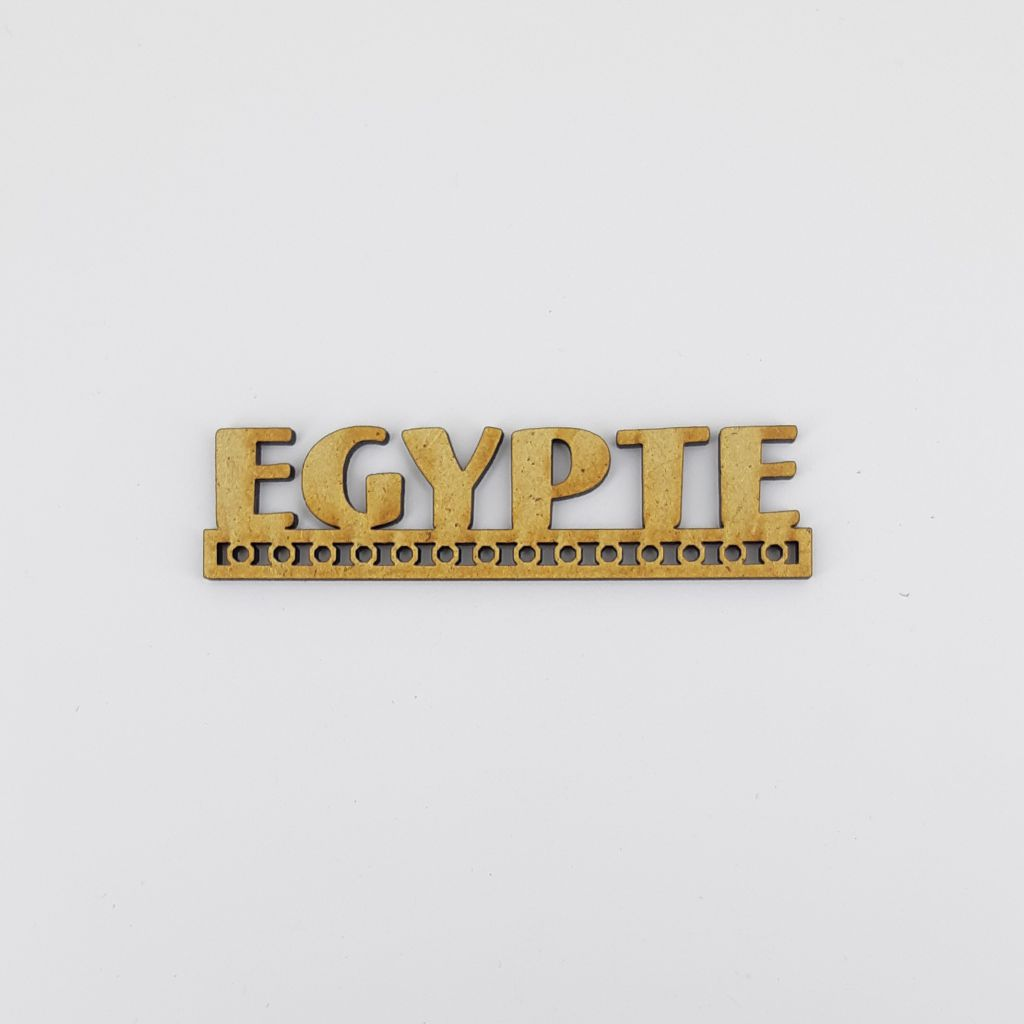 MOT BOIS AFRIQUE DU NORD - EGYPTE