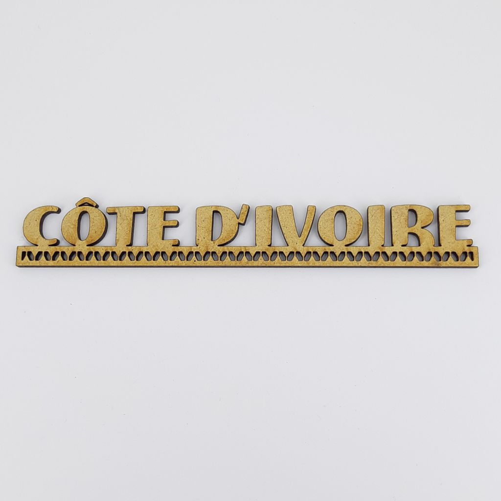 MOT BOIS AFRIQUE SUBSAHARIENNE - COTE D\'IVOIRE