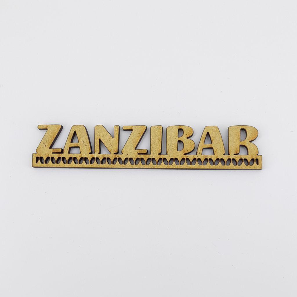 MOT BOIS AFRIQUE SUBSAHARIENNE - ZANZIBAR