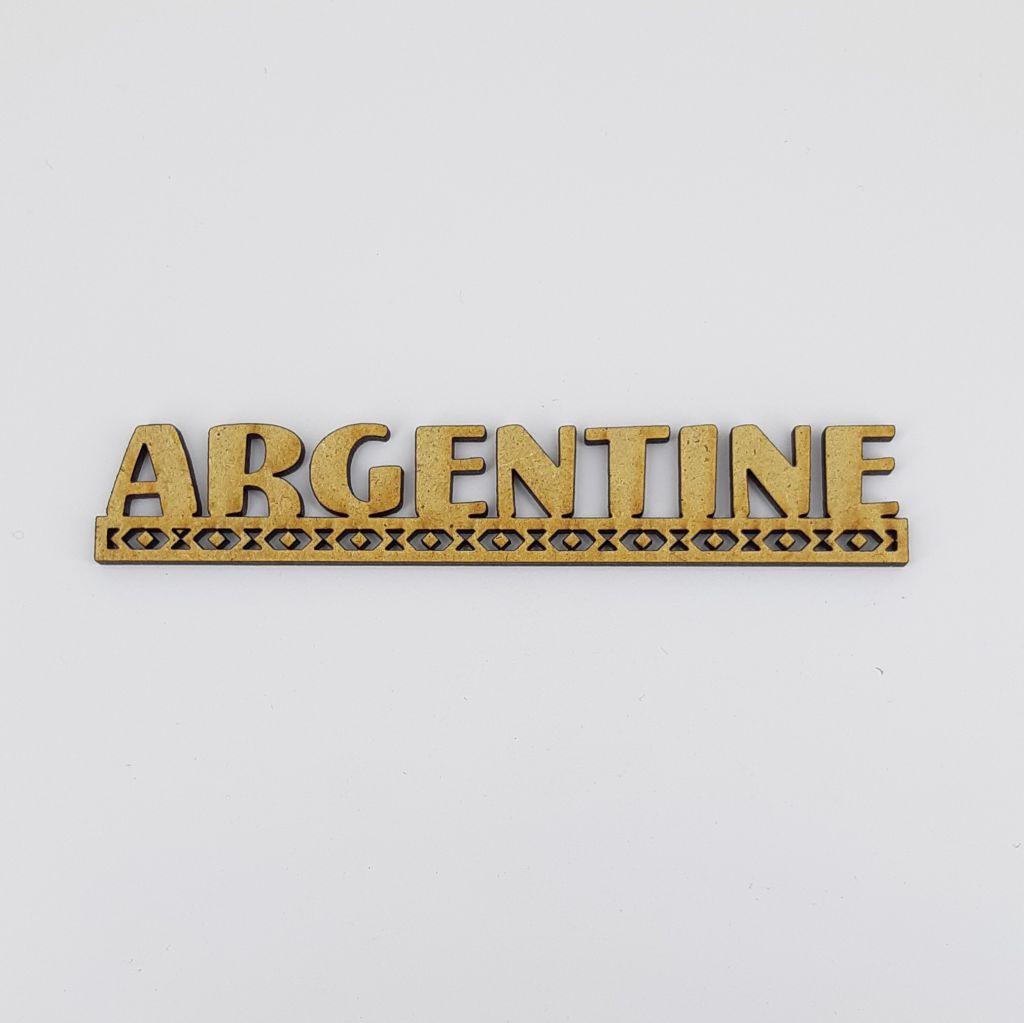 MOT BOIS AMERIQUE DU SUD - ARGENTINE