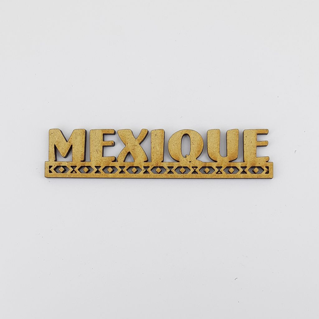 MOT BOIS AMERIQUE DU SUD - MEXIQUE