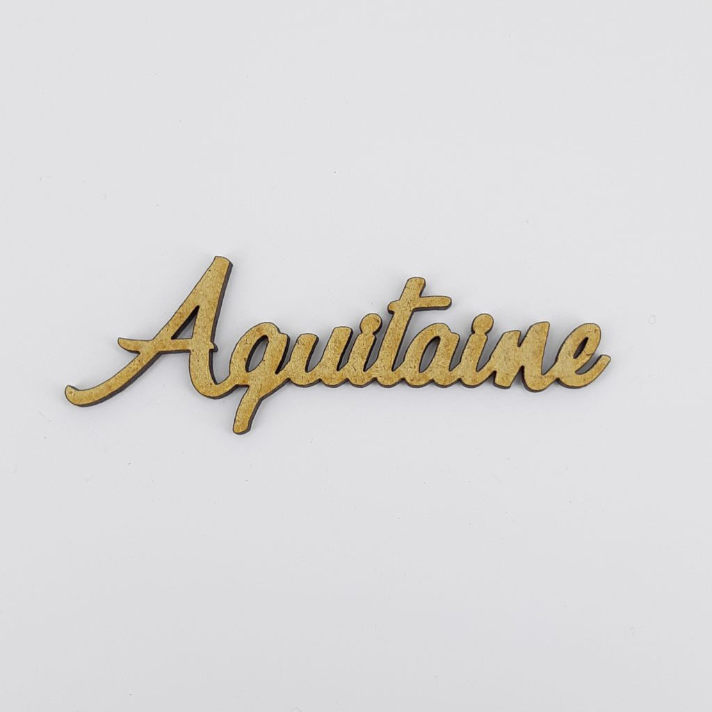 MOT BOIS FRANCE - AQUITAINE