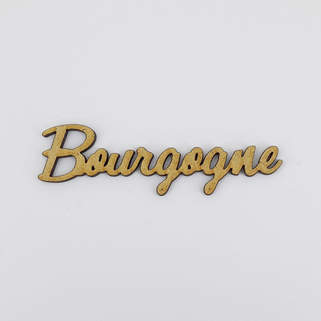 MOT BOIS FRANCE - BOURGOGNE
