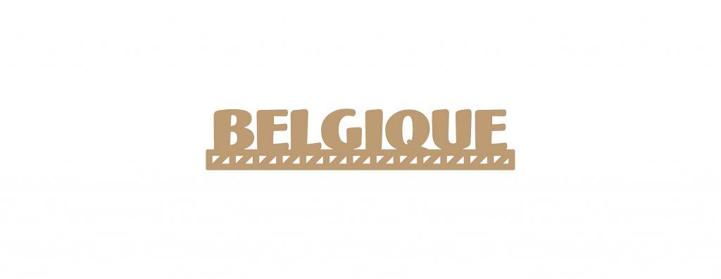 MOT BOIS PAYS D\'EUROPE - BELGIQUE