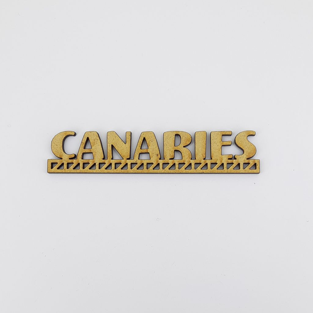 MOT BOIS PAYS D\'EUROPE - CANARIES