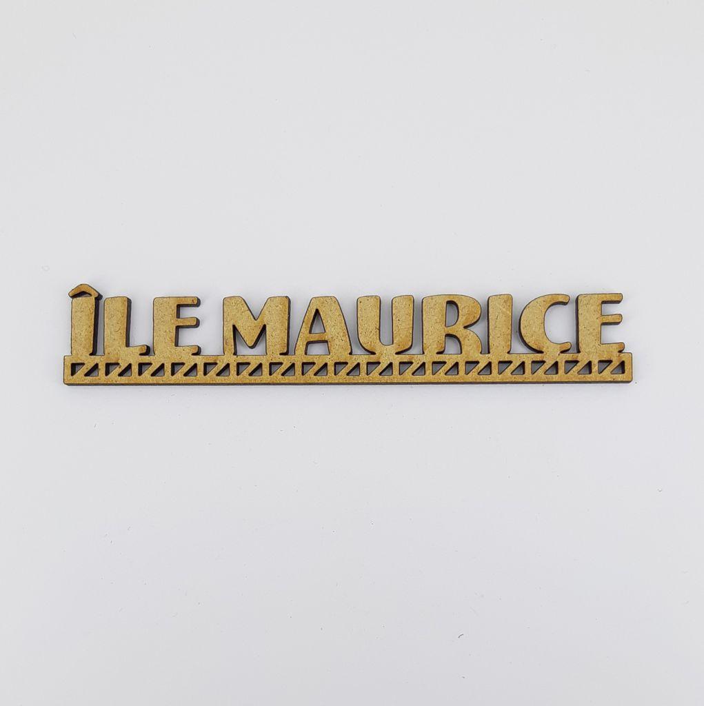MOT BOIS PAYS D\'EUROPE - ILE MAURICE