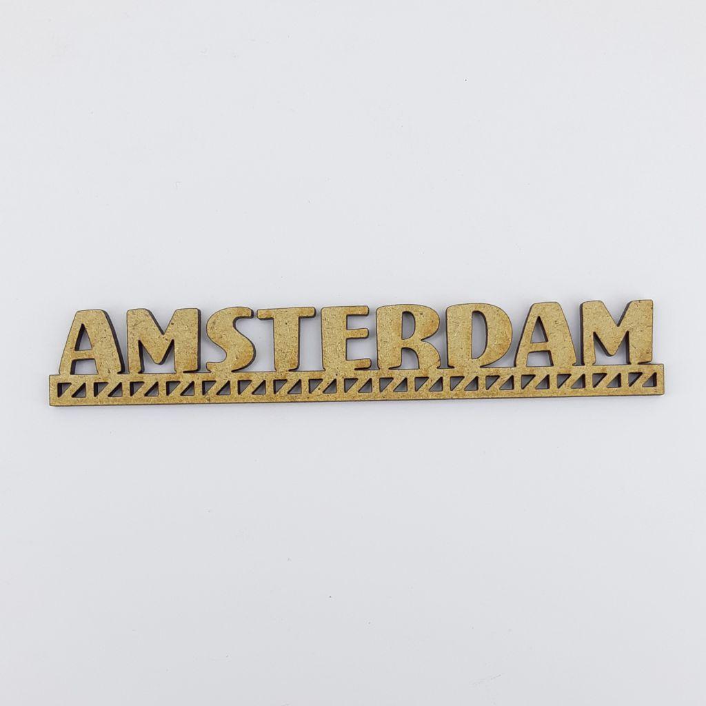 MOT BOIS VILLE D\'EUROPE - AMSTERDAM