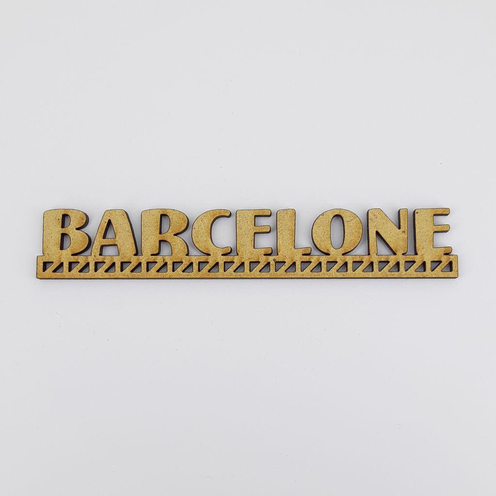 MOT BOIS VILLE D\'EUROPE - BARCELONE