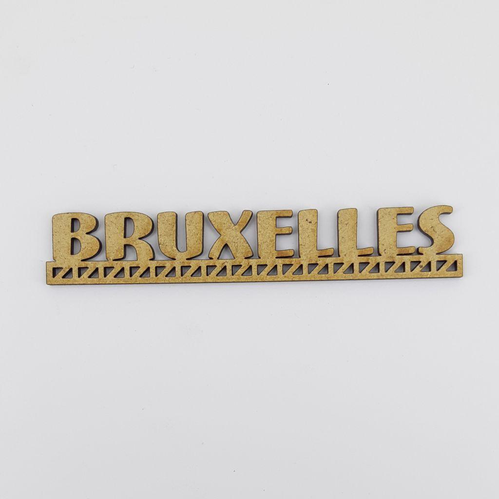 MOT BOIS VILLE D\'EUROPE - BRUXELLES