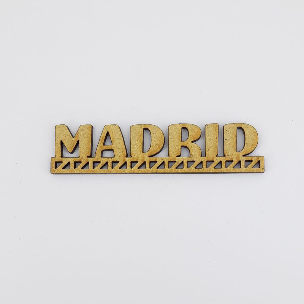 MOT BOIS VILLE D\'EUROPE - MADRID