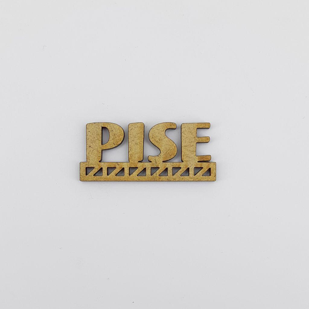 MOT BOIS VILLE D\'EUROPE - PISE