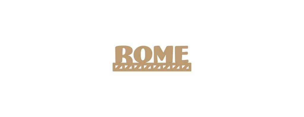 MOT BOIS VILLE D\'EUROPE - ROME