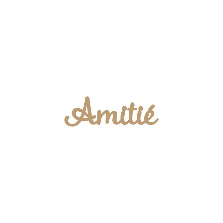 MOT MDF 3 MM AMITIE