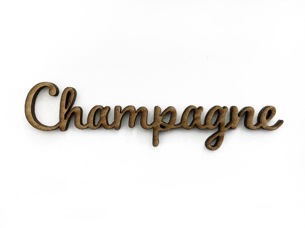 MOT MDF 3 MM CHAMPAGNE
