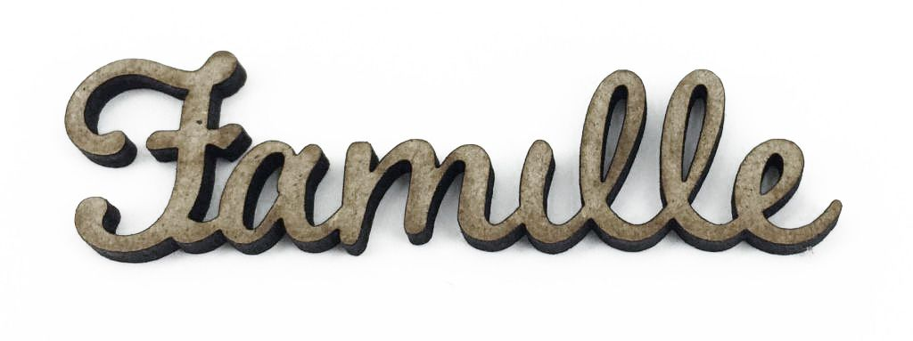 MOT MDF 3 MM FAMILLE