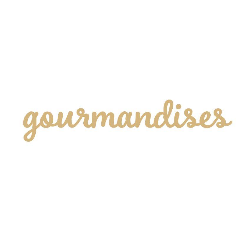MOT MDF 3 MM GOURMANDISES
