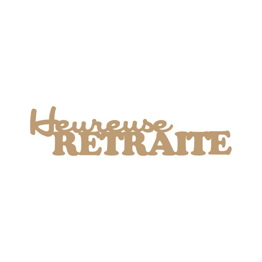 MOT MDF 3 MM HEUREUSE RETRAITE