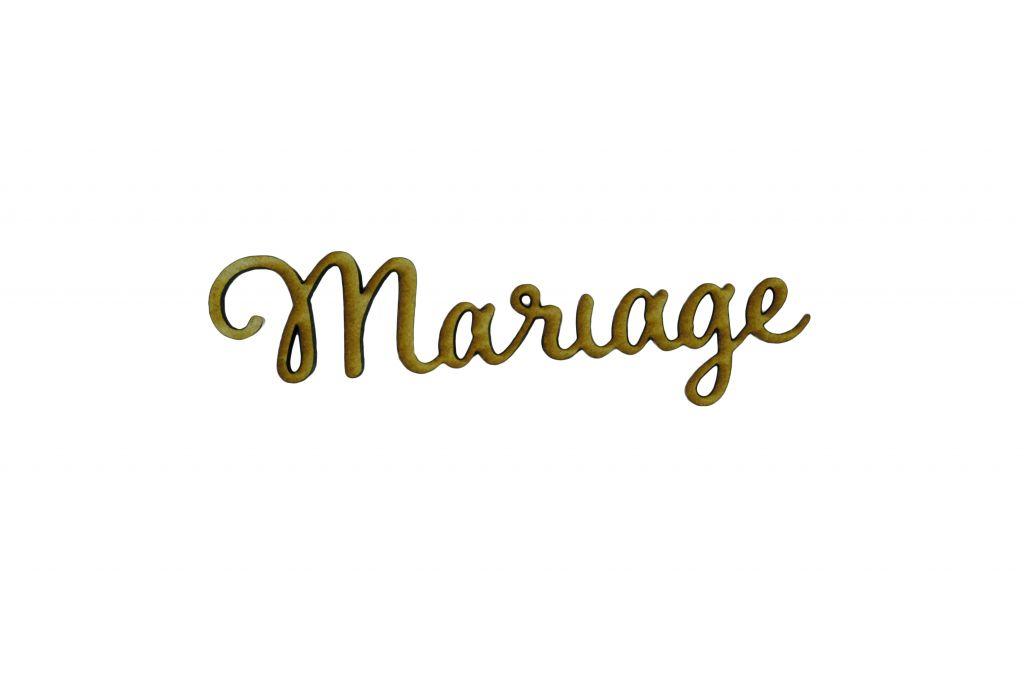 MOT MDF 3 MM MARIAGE