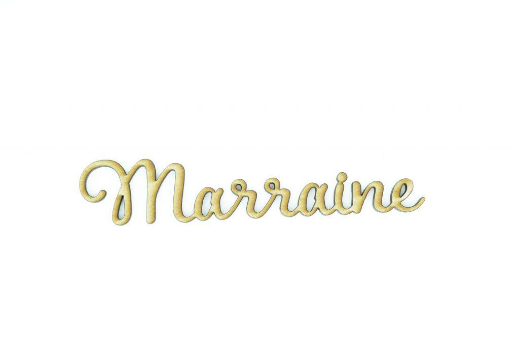 MOT MDF 3 MM MARRAINE