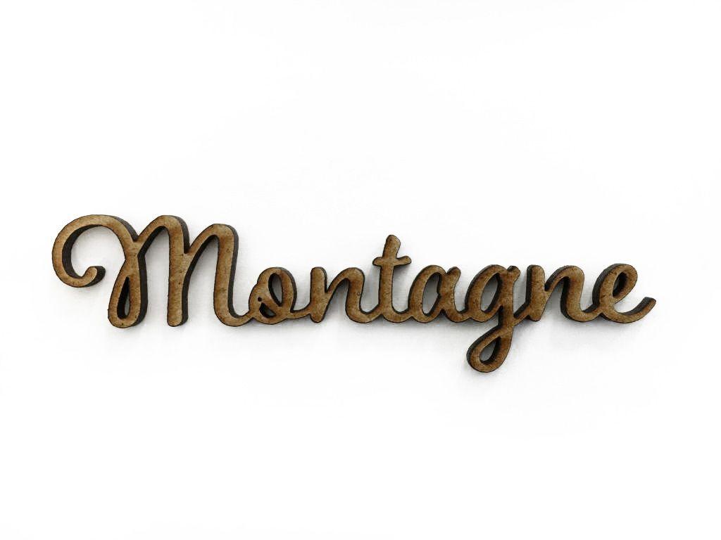 MOT MDF 3 MM MONTAGNE