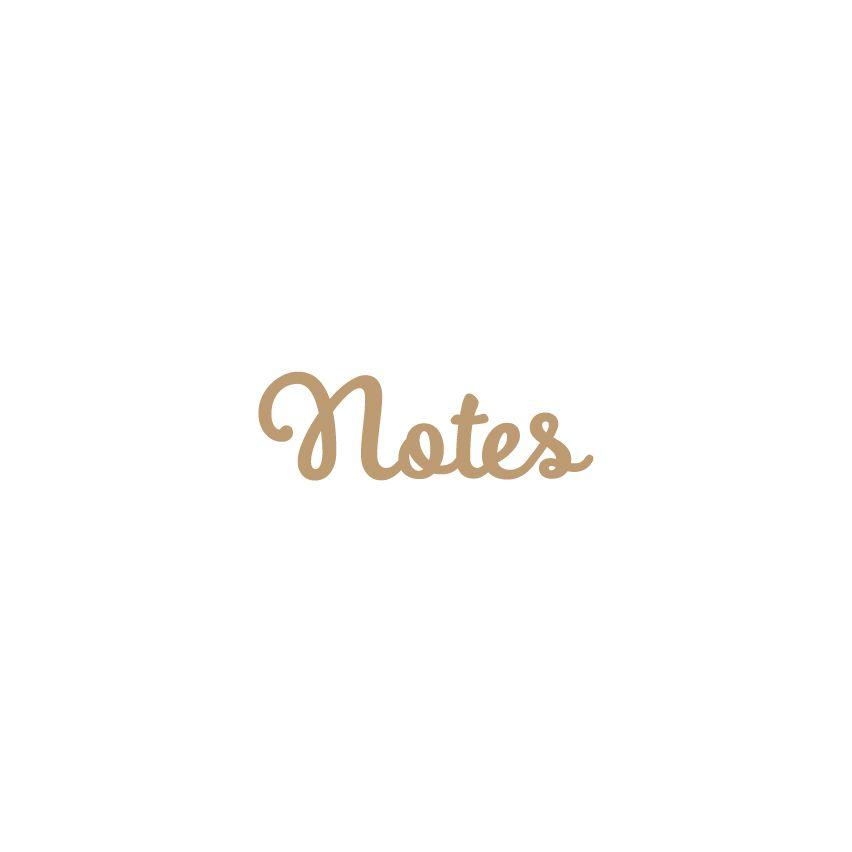 MOT MDF 3 MM NOTES