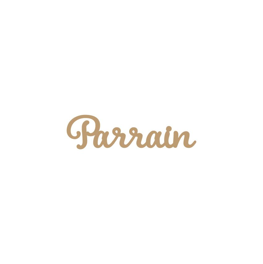 MOT MDF 3 MM PARRAIN