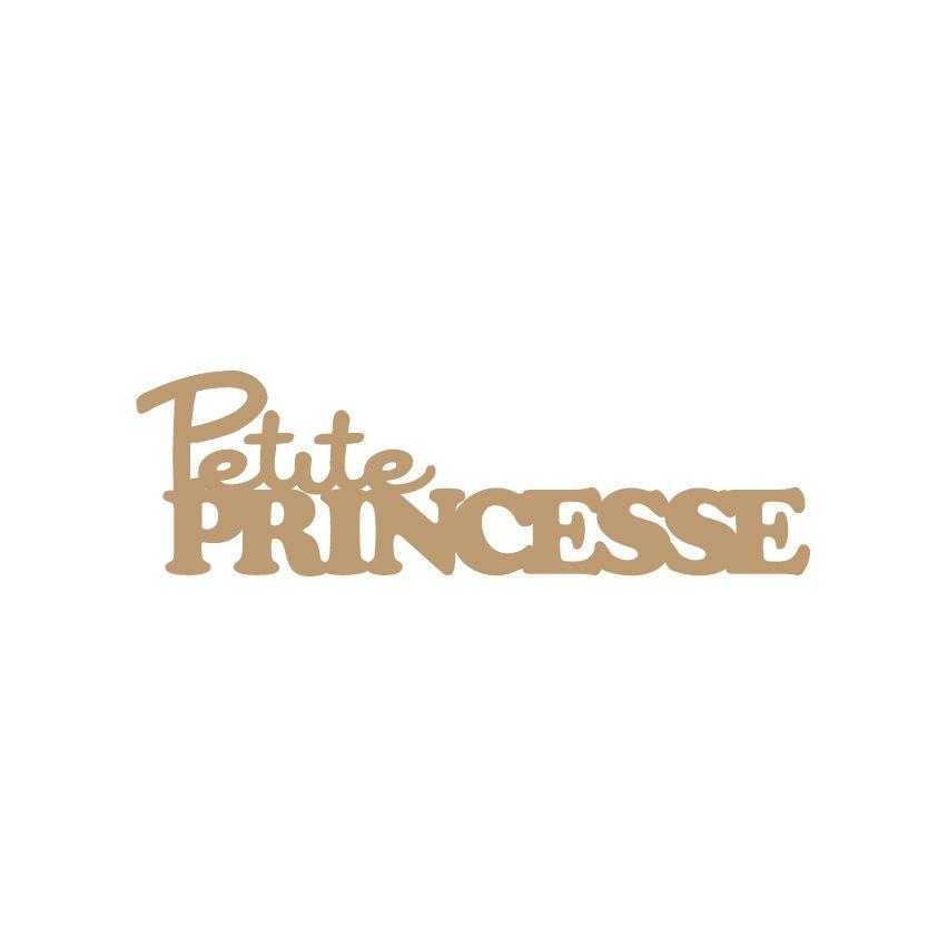 MOT MDF 3 MM PETITE PRINCESSE