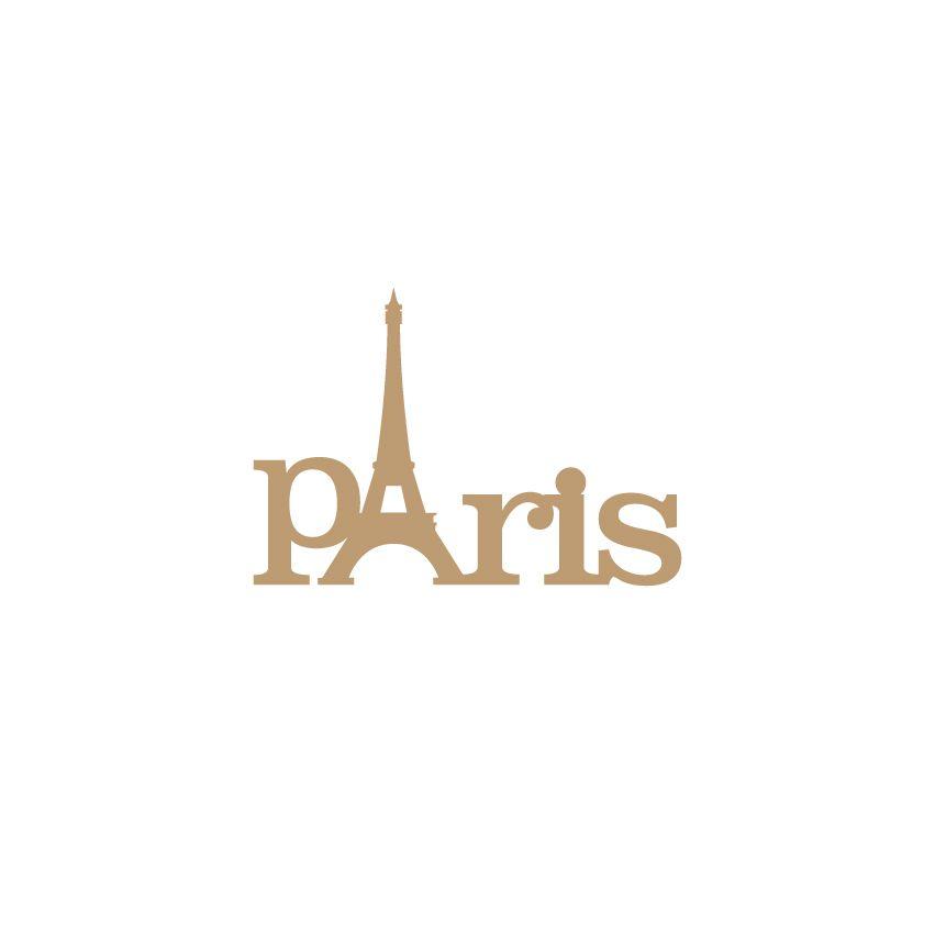 MOT MDF 3MM PARIS TOUR EIFFEL
