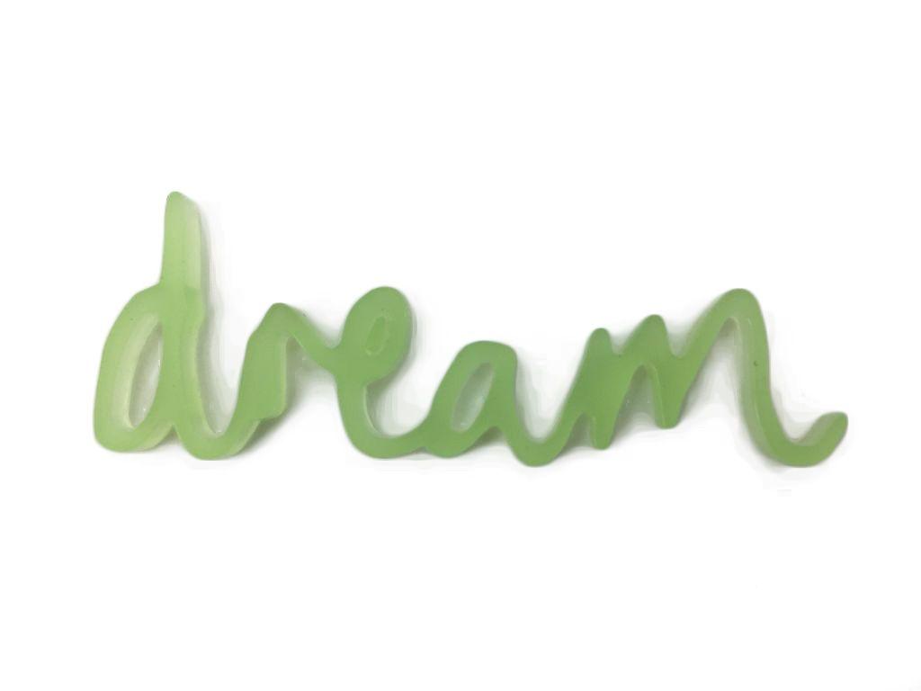 MOT PLEXI TRANSLUCIDE 3 MM DREAM VERT