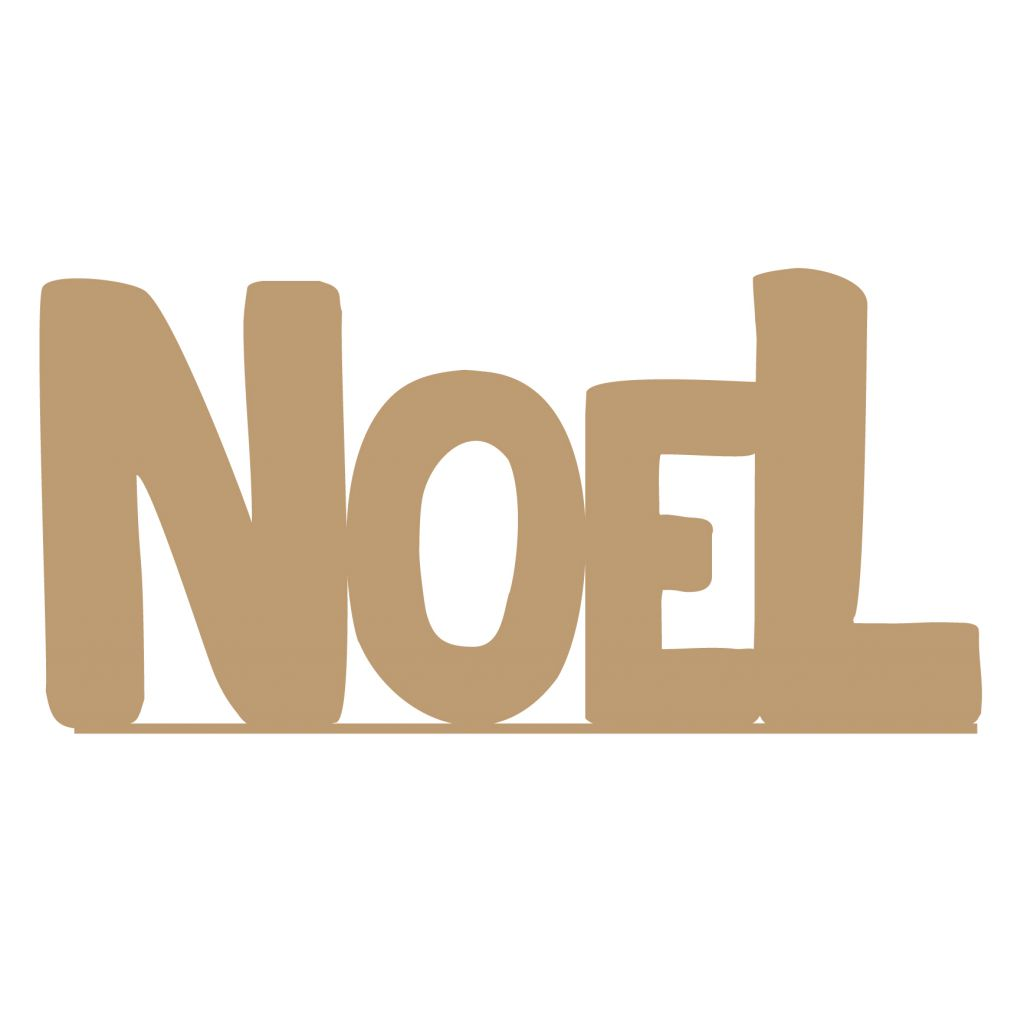 MOYEN MOT AVEC BANDE NOEL MDF 3 MM