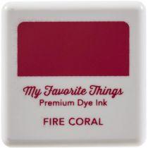 My Favorite Things Premium Dye Ink Cube - Fire Coral