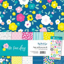 My Mind\'s Eye Paper & Accessories Kit One Fine Day