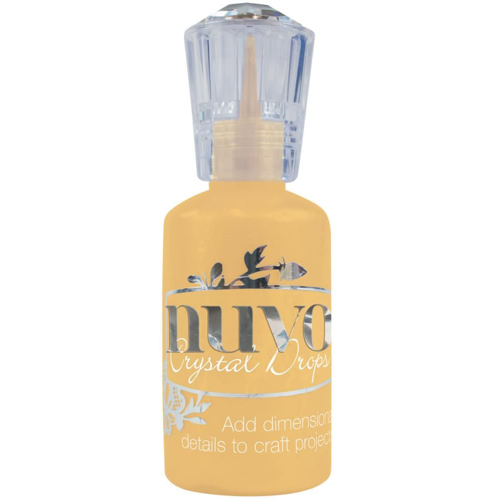Nuvo Crystal Drops 1.1oz Gloss-Dandlion Yellow