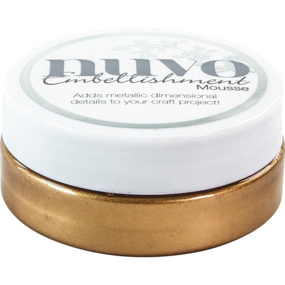 NUVO EMBELLISHMENT MOUSSE - COSMIC BROWN