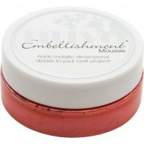 NUVO EMBELLISHMENT MOUSSE - FUSION RED