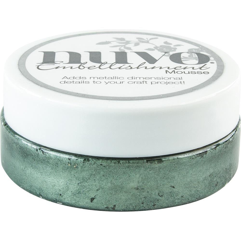 Nuvo embellishment mousse Seaspray Green