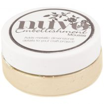 Nuvo embellishment mousse Toasted Almond