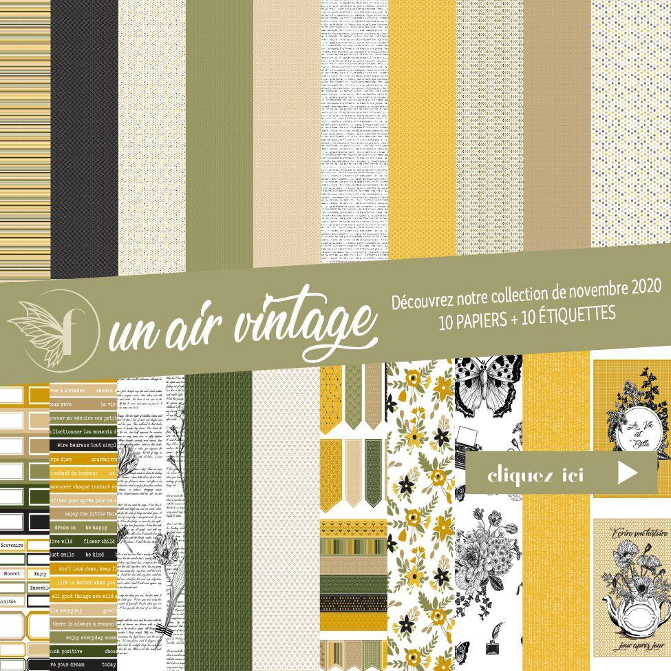 Pack un air vintage
