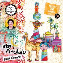 PAPER ELEMENTS Nr.01, Artsy Arabia