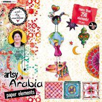 PAPER ELEMENTS Nr.02, Artsy Arabia