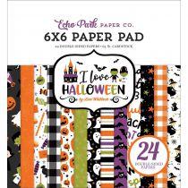 PAPER PAD - I Love Halloween