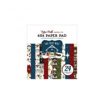 """Paper Pad 6\""""X6\"""" 24/Pkg The First Noel"""