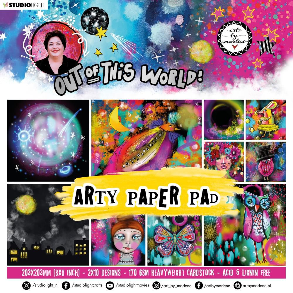 Paper Pad 8x8 Out of this World