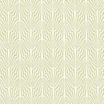 PAPIER 100 % COTON 50 X 70 CM - Gabrielle Wasabi/Blanc