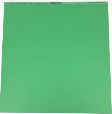 """PAPIER Bazzill Smoothies Cardstock 12\""""X12\"""" Green Apple"""