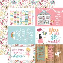 PAPIER IMPRIME ALL GIRL - 4 x 6 Journaling Cards