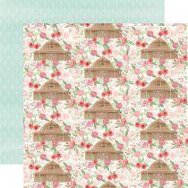 PAPIER IMPRIME FARMHOUSE MARKET - Barn Floral