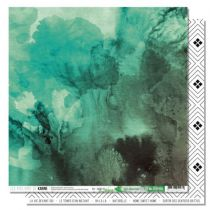 PAPIER IMPRIME GREEN & GRAPHIK - Vert obsession