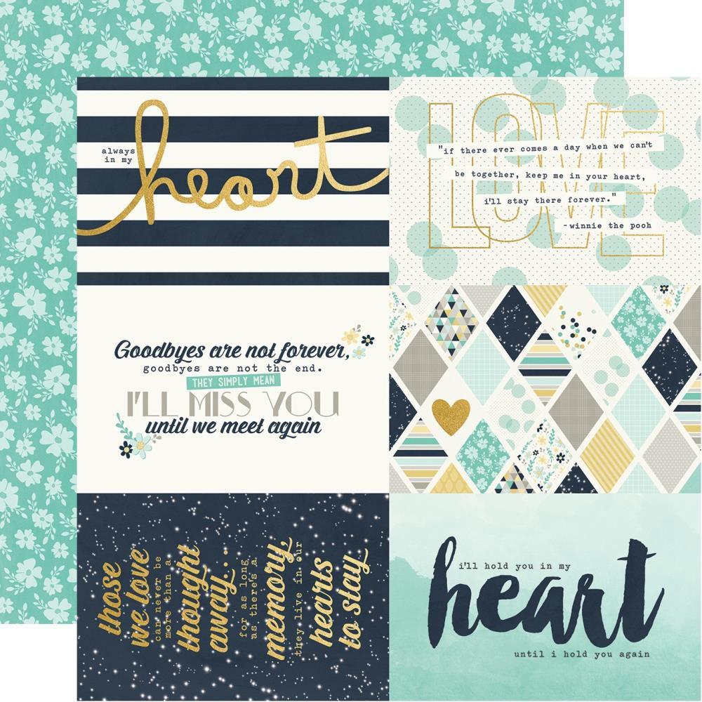 PAPIER IMPRIME HEART - 4x6 Elements